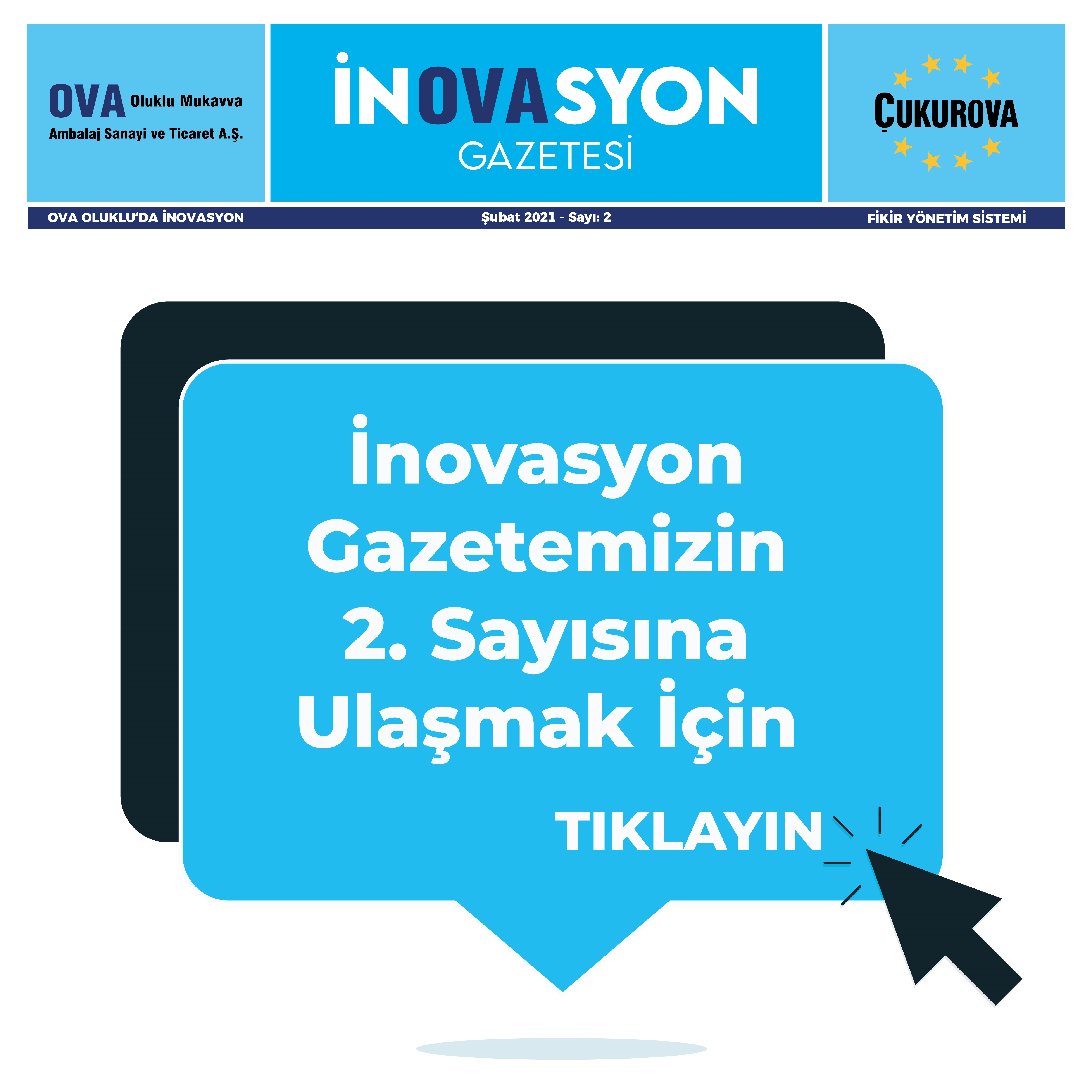 İnovasyon Gazetesi Sayı 2